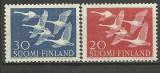 Finlanda 1956 - Europa, serie neuzata