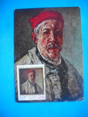 HOPCT MAXIMA 38483  GHEORGHE PETRASCU 1872-1949 AUTOPORTRET foto