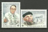 Finlanda 1980 - Europa, serie neuzata