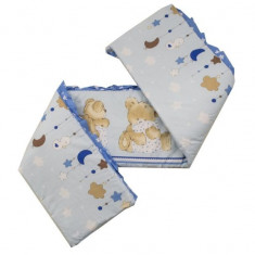 Aparatoare Laterala MyKids Teddy Hug Blue M2 140x70