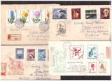 Ungaria - Plicuri circulate in Romania, anii 1960