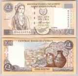Cipru 2004 - 1 pound XF+/aUNC