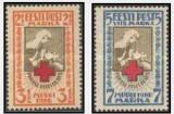 Estonia 1922 Crucea Rosie, serie neuzata