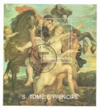 Sao Tome 1990 - pictura Rubens 2, colita stampilata
