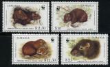 Jamaica 1996 - Fauna WWF serie neuzata