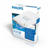 Hard disk extern Philips PHILIPS EXTERNAL FM51SS010P/10, 512GB, USB 3.0