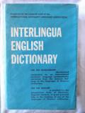 """INTERLINGUA ENGLISH DICTIONARY"", International Auxiliary Language Association"