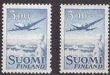 Finlanda 1953 - Mi579x, 579y neuzate