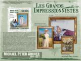 Comores 2009 - picturi Peter Ancher, colita neuzata