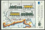 Finlanda 1987 - tren, bloc neuzat