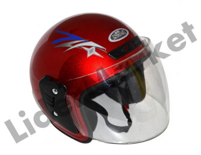 Casca moto open face foto