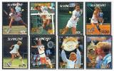 St Vincent 1987 - jucatori de tenis, serie neuzata