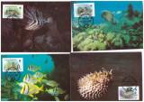 Antigua&Barbuda 1987 - Fauna WWF, serie maxime