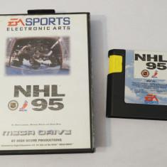 SEGA Megadrive Mega Drive - NHL 95, Sporturi, Toate varstele, Single player