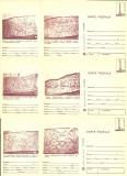 1980 - muzeul de istorie, set intreg postal 1 maro