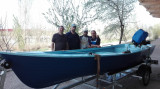 Vand barca cu motor si peridoc
