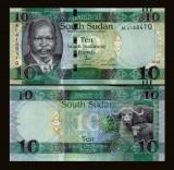 Sudan Sud 2015 - 10 pounds UNC