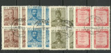 Albania 1960 - 80th literatura, serie stampilata de 4