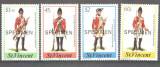 St Vincent 1984 - Uniforme militare, serie neuzata