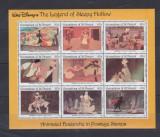 Grenadines of St Vincent 1992 - Disney, Sleepy Hollow, KLB neuza