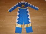 Costum carnaval serbare power rangers ninja pentru copii de 5-6 ani