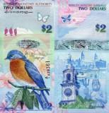Bermuda 2009 - 2 dollars UNC, hibrid