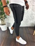 Pantaloni de trening gri - LICHIDARE DE STOC - A1328 B10-1, Din imagine