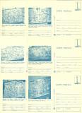 1979 - muzeul de istorie I, set intreg postal 1 albastru