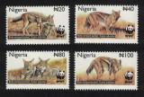 Nigeria 2003 - Fauna WWF, sacalul, serie neuzata