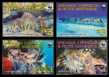 Grenada Carriacou 2009 - Fauna WWF, crustacee, serie neuzata