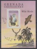 Grenada Grenadines 1980 - Bufnite, colita neuzata