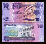 Fiji 2013 - 10 dollars UNC