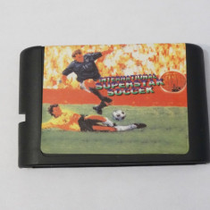 SEGA Megadrive Mega Drive - International Superstar Soccer Deluxe, Sporturi, Toate varstele, Single player