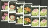 Sahara 1993 - cactusi, serie neuzata de 4