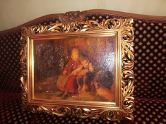 Pictura veche. Rama florentina foto