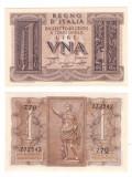 Italia 1939 - 1 lira XF+/aUNC