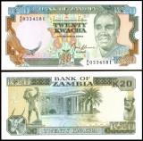 Zambia 1989 - 20 kwacha UNC