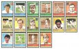 Grenadines of St Vincent 1984 - Cricketers, serie neuzata 1