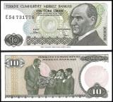 Turcia 1988 - 10 lire UNC