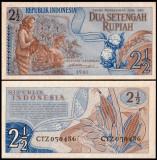 Indonezia 1961 - 2,5 rupiah aUNC