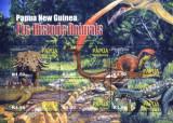 Papua New Guinea 2004 - animale preistorice, bloc neuzat
