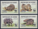Guinea 2009 - Fauna wwf, serie neuzata