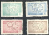 Vietnam Nord 1957 Congres Leipzig, serie neuzata