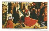 Zaire 1982 - Craciun-pictura, colita neuzata