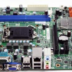 Placa de baza 1155 DDR3 SATAII PCI-EXPRESS DVI VGA MICRO-ATX Lenovo IH61M, Pentru INTEL, DDR 3, Msi