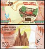 Madagascar 2017 - 500 ariary UNC