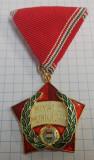 R.P. Ungaria - Medalie pentru merite in munca