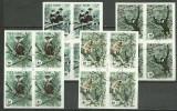 Vietnam 1987 - Fauna, maimute, serie ndt stampilata de 4
