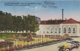 Ocna Mures 1930 - Baia de cura sarata cu vapori, circulata