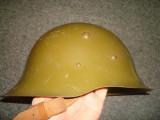 Casca soldat Bulgaria/Casca bulgaresaca/Casca militara razboi WW2/Colectie/Decor